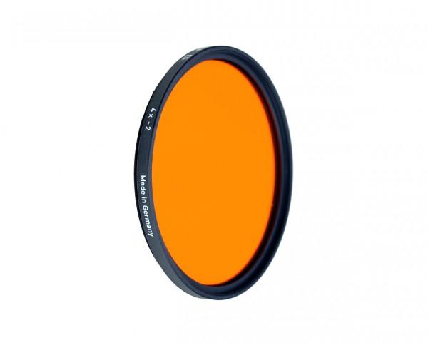 Heliopan black and white filter orange 22 diameter: 77mm (ES77)