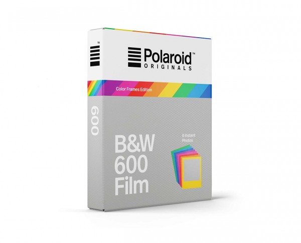 Polaroid B&W 600 'Color Frames Edition'| Black and white instant film with 8 exposures