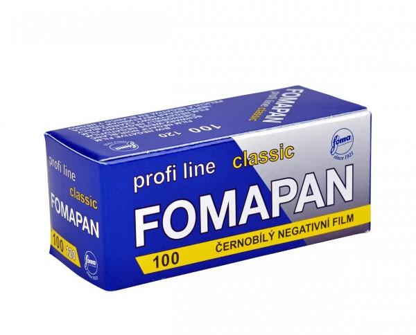 Fomapan 100 Classic Rollfilm 120