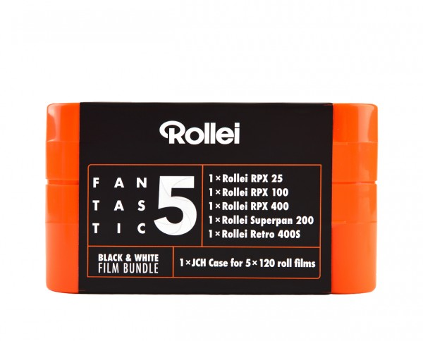 Rollei Fantastic 5 | Black & White 120 Rollfilm Bundle