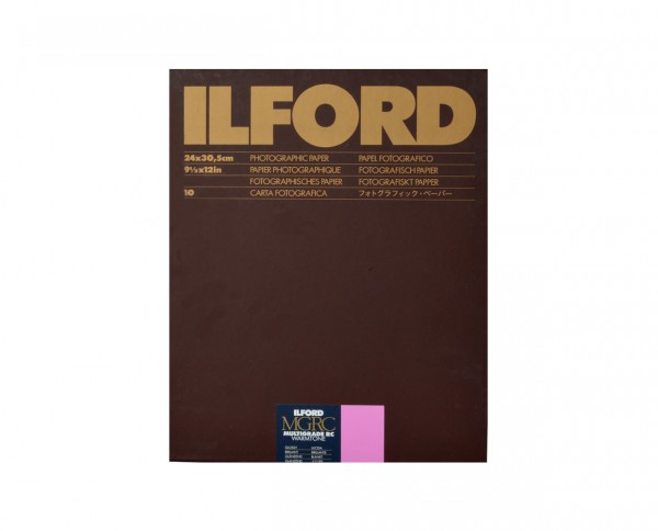 "Ilford Multigrade RC warmtone glossy 9.5x12"" (24x30.5cm) 50 sheets"