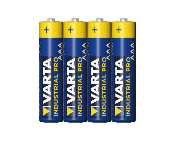 Varta Industrial Pro Micro AAA Batterie (4er Pack)