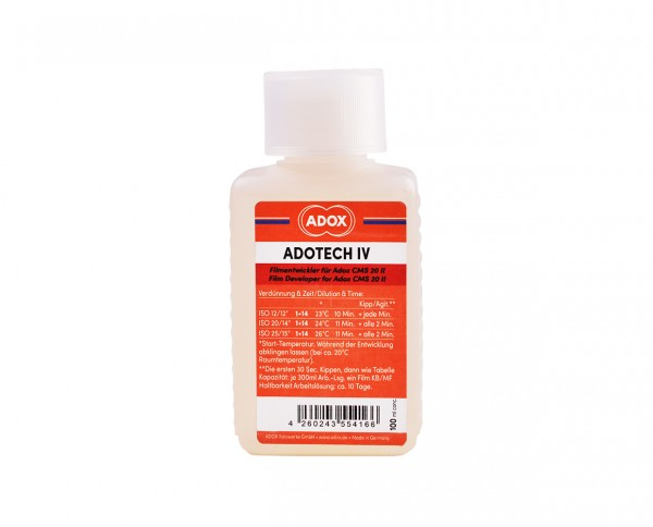 Adox Adotech IV 100ml for 6 Adox CMS 20 films