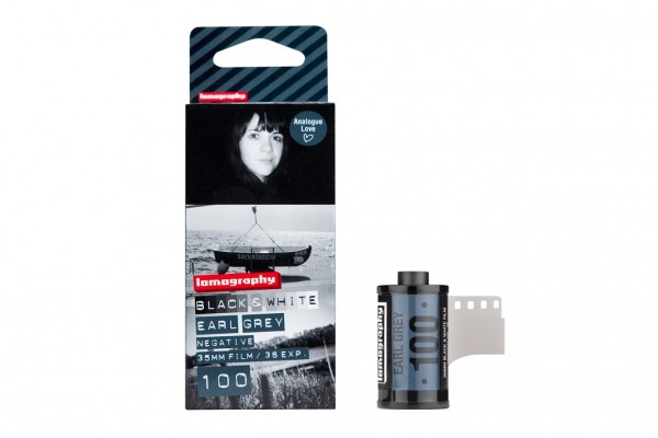 Lomography Earl Grey B&W 100 35mm 36 exposures pack of three