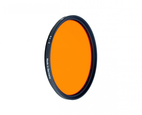 Heliopan black and white filter orange 22 diameter: 62mm (ES62)