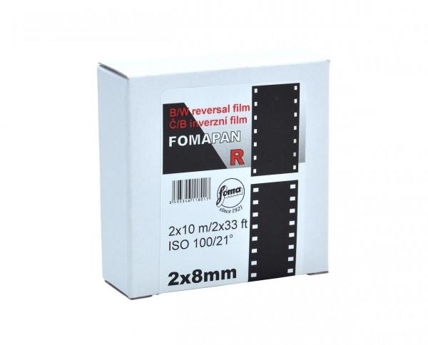 Fomapan R 100 double 8mm on 10m spool