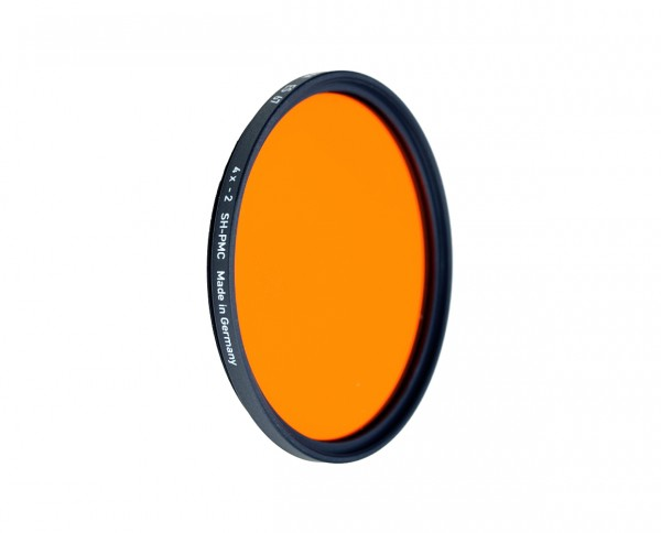 Heliopan black and white filter organge 22 diameter: 43mm (ES43) SH-PMC