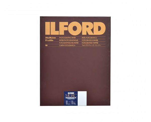 """Ilford Multigrade RC warmton pearl 24x30,5cm (9,5x12"""") 10 Blatt"""
