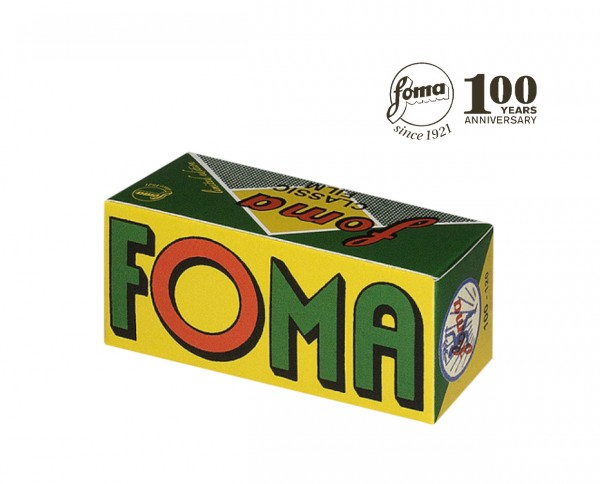 Fomapan 100 Classic roll film 120 | RETRO LIMITED