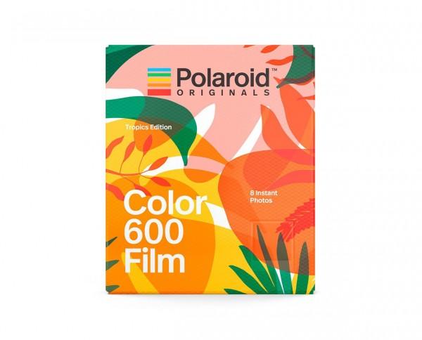 "SALE   Polaroid Color 600 'Tropics Edition""   Sofortbildfilm mit 8 Aufnahmen Produktion 04.2018"