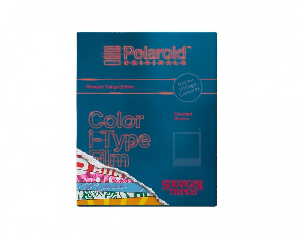 SALE | Polaroid Color I-Type Film 'Stranger Things Edition' - Prod.04.2019