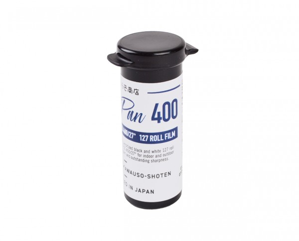 Rera Pan 400 roll film 127
