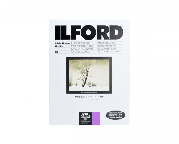 "Ilford Multigrade Art 300 matt 30,5x40,6cm (12x16"") 30 Blatt"