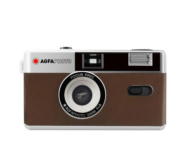 Agfaphoto Analoge 35mm Kamera braun