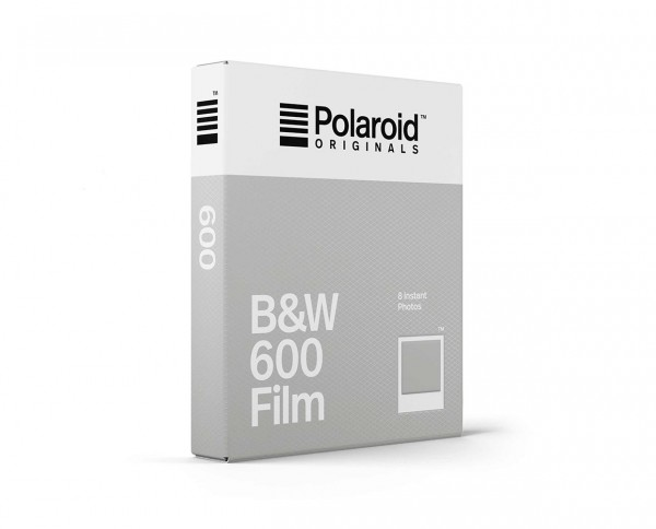 Polaroid B&W 600 Film | Black and white instant film with 8 exposures