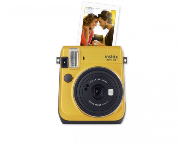 Fuji instax mini 70 Sofortbildkamera Canary Yellow
