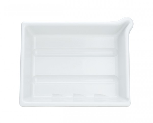 "AP developing tray 9.5x12"" (24x30cm) white"