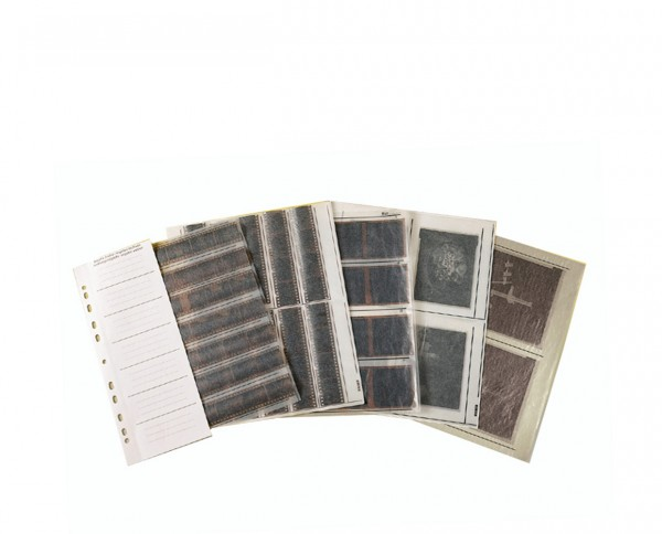 Kaiser glassine negative sleeves medium format 6x6cm 100 sleeves