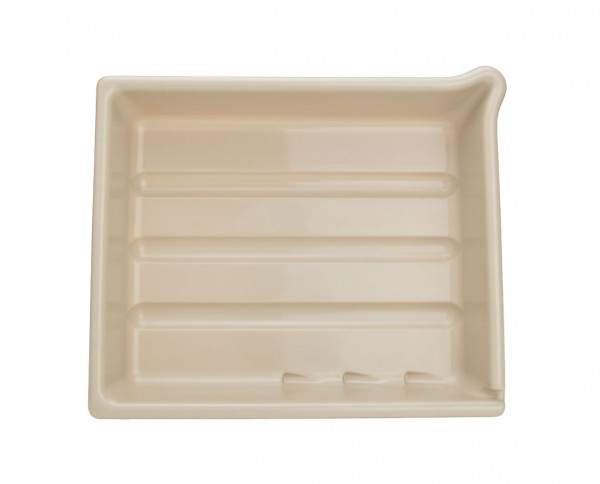 "AP developing tray 8x10"" (18x24cm) cream"