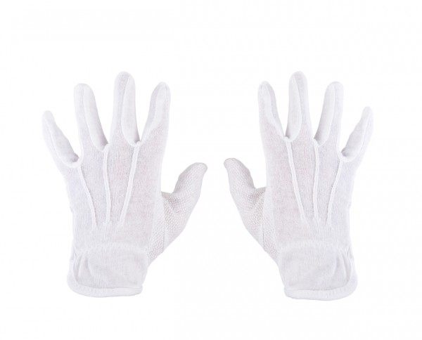 Cotton Gloves with Micro-PVC dots