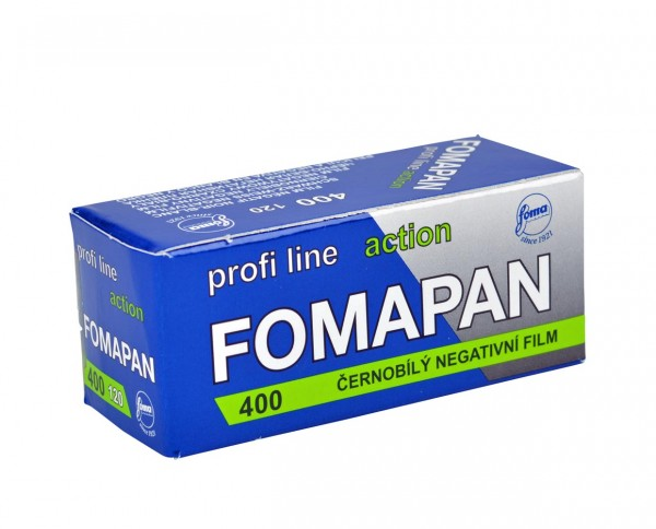 Fomapan 400 Action roll film 120