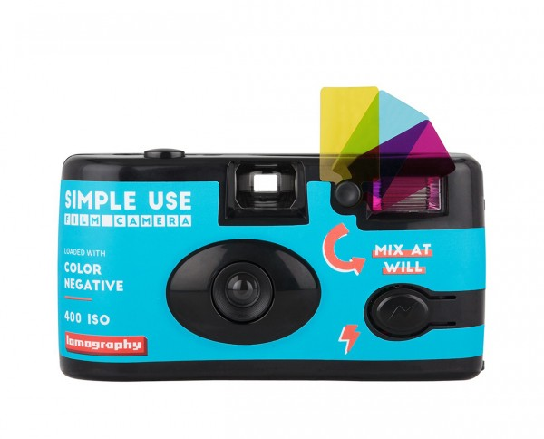 Lomography Simple Use Film Camera Color Negative 400 35mm 36 exposures