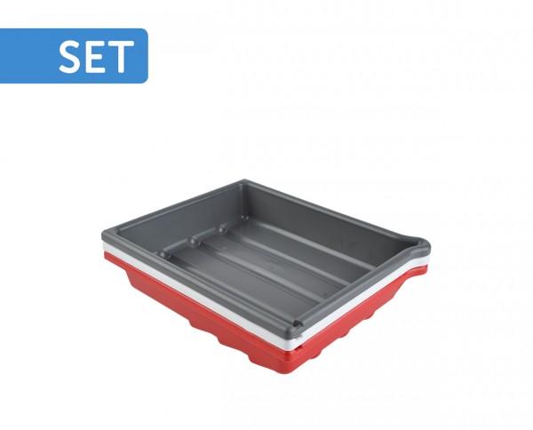 Paterson Tray-Set 20x25cm (8x10') | 3x developing tray