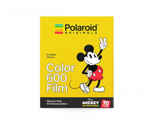 Polaroid Color 600 'Mickey´s 90th Anniversary Edition' | Instant film with 8 exposures