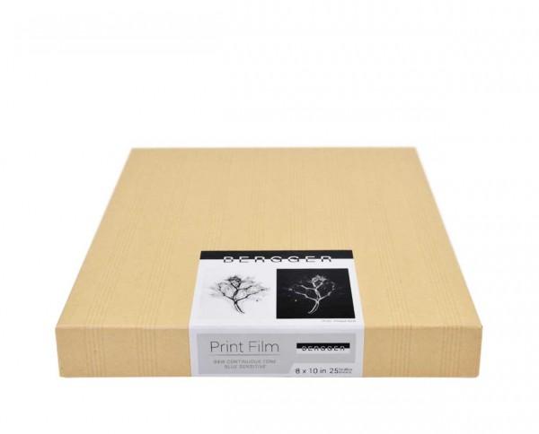 "Bergger print film 8x10"" (20.3x25.4cm) 25 sheets"