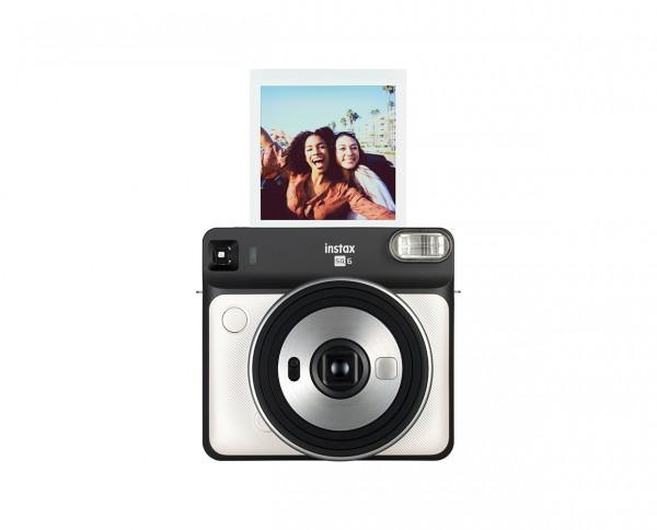 Fuji Instax SQUARE SQ6 Pearl White instant camera