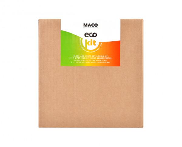 MACO eco Kit - Universal Entwicklungschemie 3x 1l