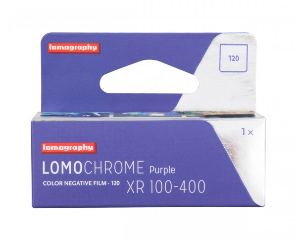 Lomography LomoChrome Purple 2019 100-400 Rollfilm 120