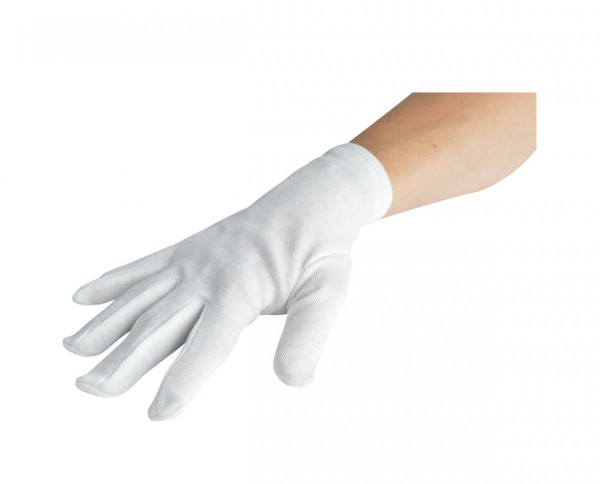 Baumwoll-Handschuhe weiss