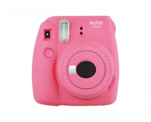 Fuji instax mini 9 Sofortbildkamera flamingo pink