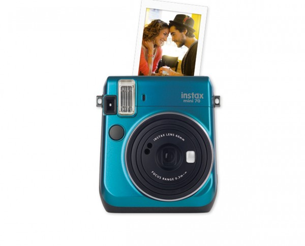 Fuji instax mini 70 instant camera island blue