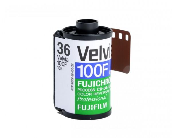 Fuji Velvia 100 F 35mm 36 exposures pack of three