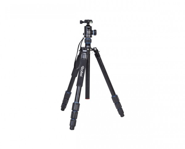 Rollei Tripod C6i Plus Aluminium 'Black' | Incl. ball head, 2 changing plates and bag