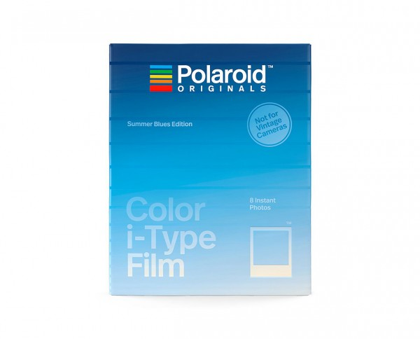 Polaroid Color I-Type 'Summer Blues Edition' | Instant film with 8 exposures
