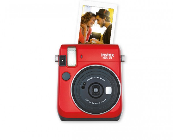 Fuji instax mini 70 Sofortbildkamera Passion Red