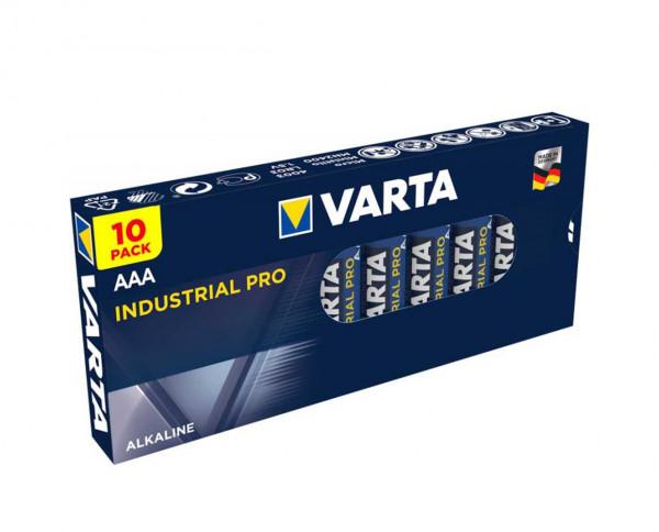 Varta Industrial Pro Micro AAA Batterie (10er Pack)