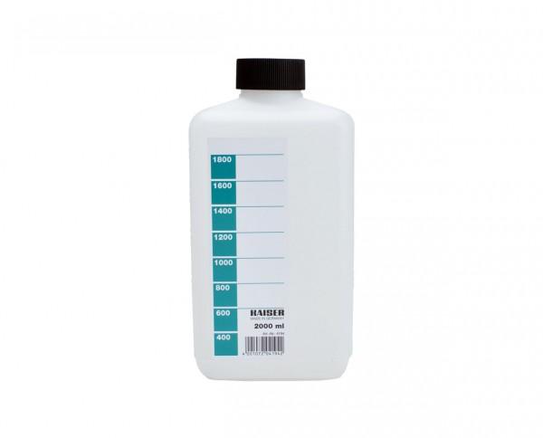 Kaiser Chemikalienflasche 2.000ml weiss