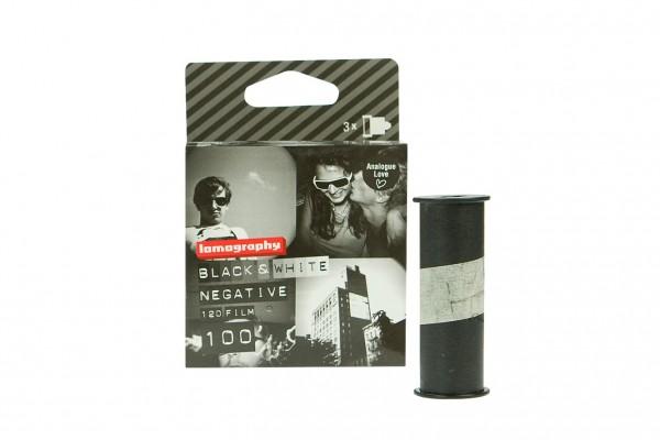 SALE | Lomography Earl Grey B&W 100 roll film 120 pack of three | Exp 03/2020