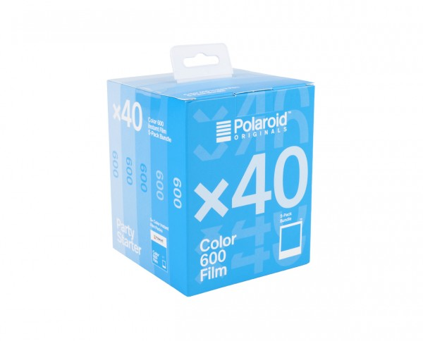 Polaroid Color 600 Film | Color instant film with 8 exposures | pack of five