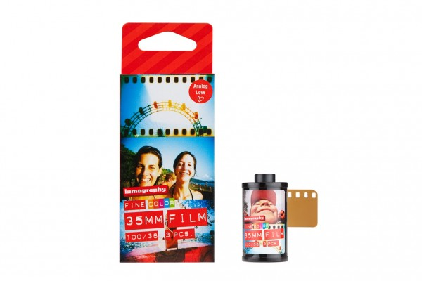 Lomography Color Negativ 100 135-36 3er-Pack