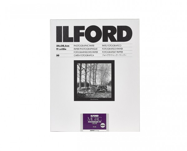 "Ilford Multigrade V RC De Luxe pearl (44M) 9.5x12"" (24x30.5cm) 50 sheets"