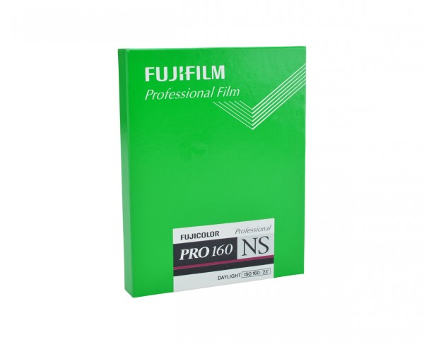 "Fuji PRO 160 NS sheet film 4x5"" (10,2x12,7cm) 20 sheets"
