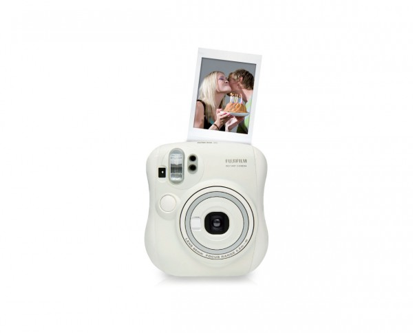 Fuji instax mini 25 instant camera white