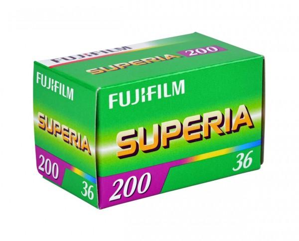 Fuji Superia 200 35mm 36 exposures
