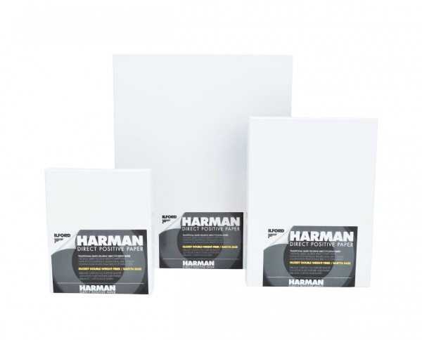 "Harman Direct Positive FB glänzend 10,2x12,7cm (4x5"") 25 Blatt"