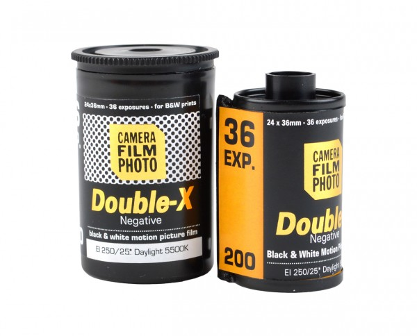 CFP Double-X B&W Film 35mm 36 exposures
